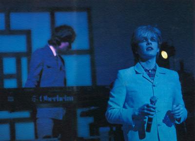 Richard on stage 1981