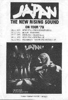 Tour advert